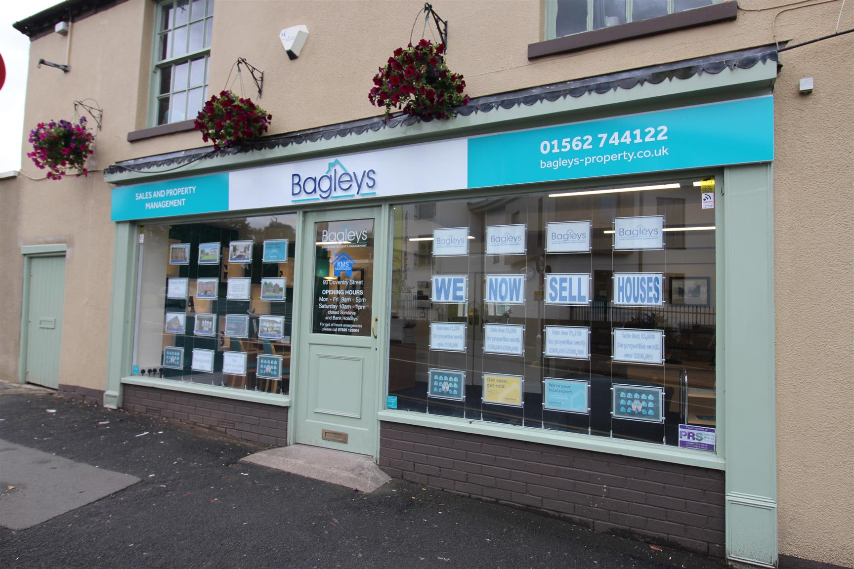 The Bagley Rentals office in Kidderminster